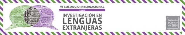 Logo 6th coloquio investigacion lenguas extranjeras (1)